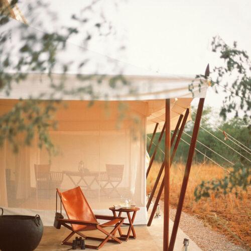 Luxury tent at Aman-I-Khas resort