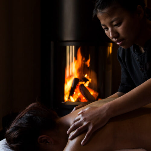 gangtey-lodge-bhutan-massage-fire