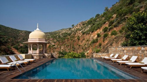 Samode Palace Pool