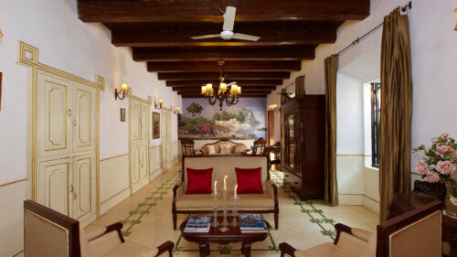 Inside Siolim House