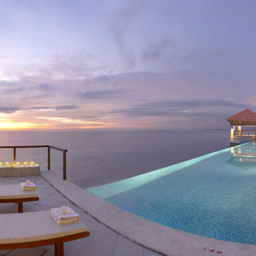 Infinity Pool at The Leela Kovalam