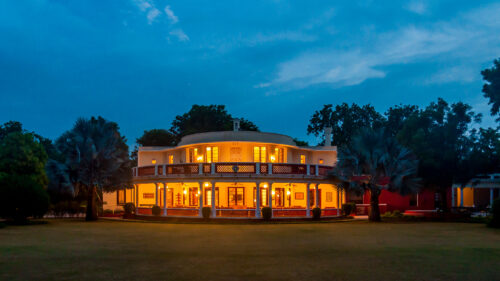 Vivanta by Taj, Sawai Madhopur Lodge at night