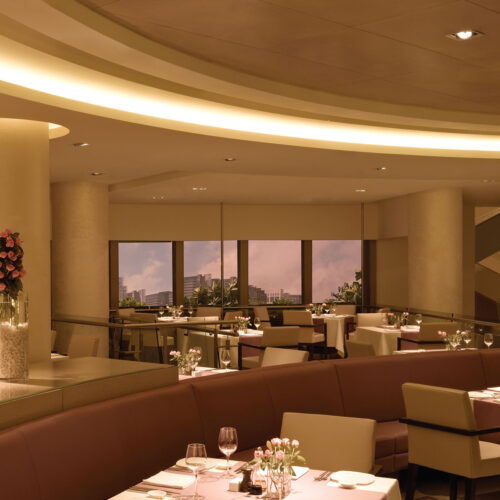 Trident Bandra Kurla dining room