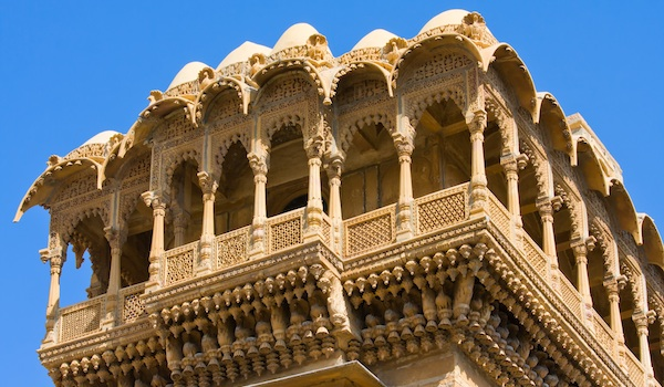 Haveli (mansion) in Jaisalmer, India