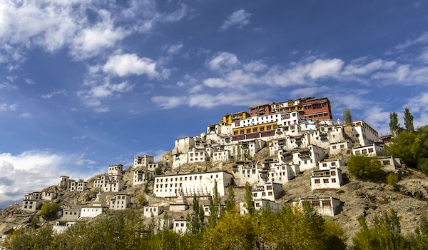 Thiksey monastery(Thikse Gompa) Leh, India