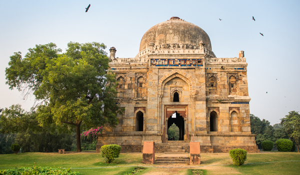 Delhi's Lodhi Gardens are an oasis in the busy city © bonniecaton/iStock