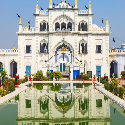 Chota Imambara in lucknow