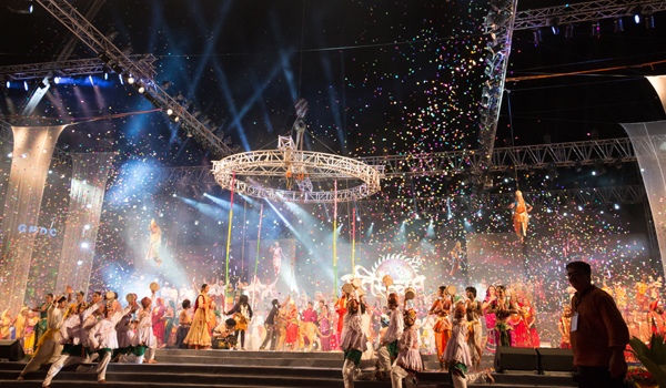 A number of large-scale performances are held in Ahmedabad © Gujarat Tourism