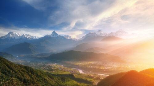 landscape of shangri la pokhara