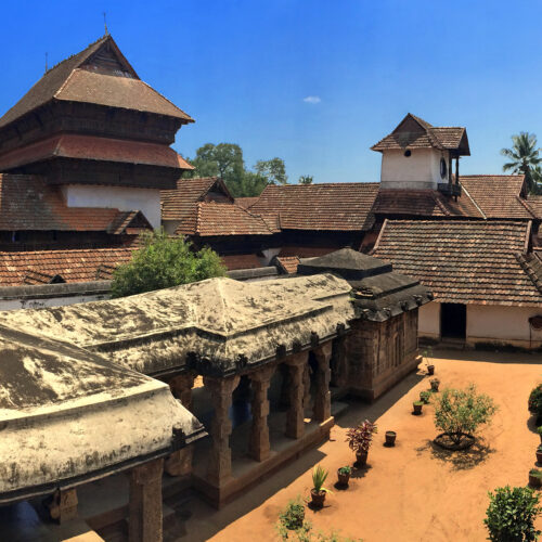 ancient wooden palace in trivandrum