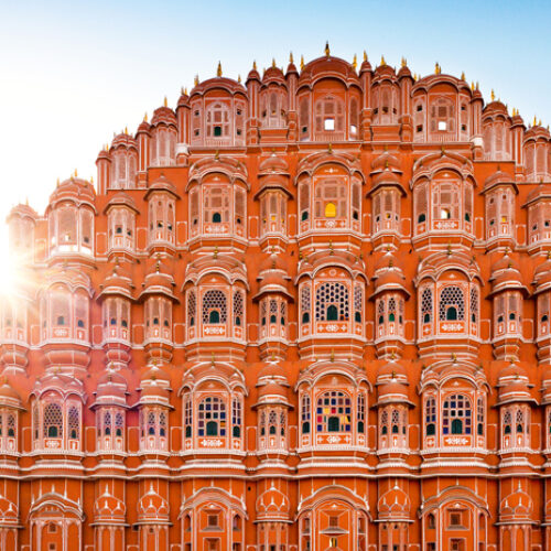 Rajasthan Landmarks | Hawa Mahal