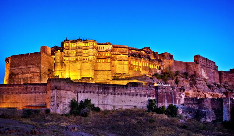 Rajasthan Landmarks | Mehrangarh Fort