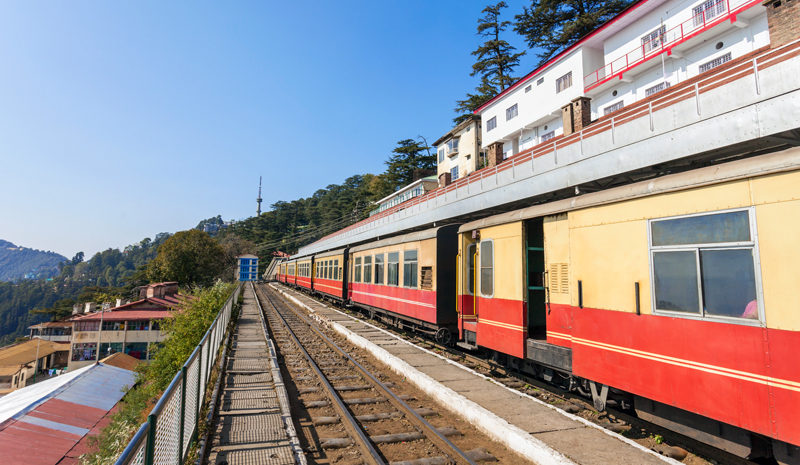 Landmarks in India | Kalka Shimla Railway
