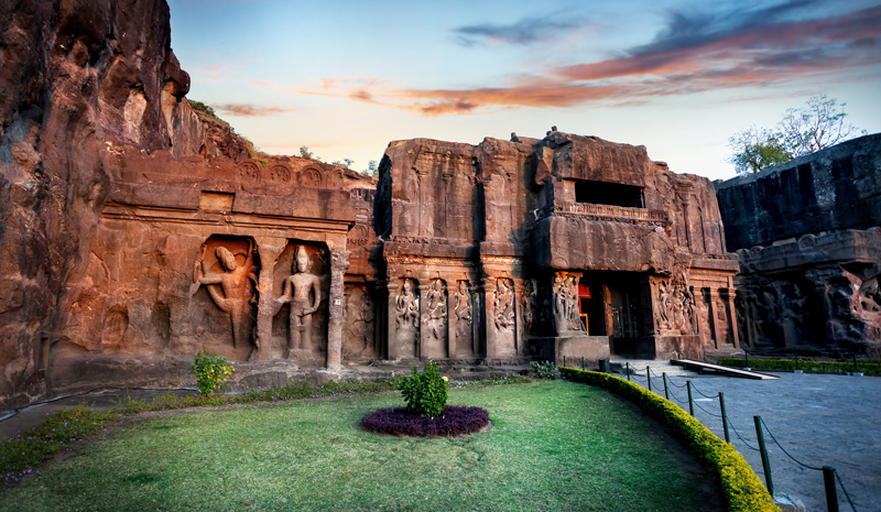 Landmarks in India | Ajanta And Ellora Caves
