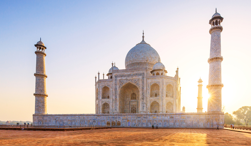 Landmarks in India | Taj Mahal