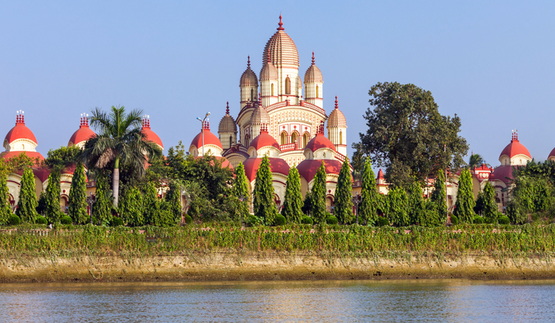 Landmarks in India | Dakshineswar Kali Temple