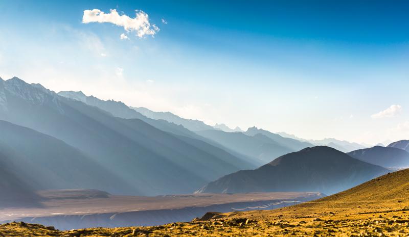 Himalayan India   Sunrise