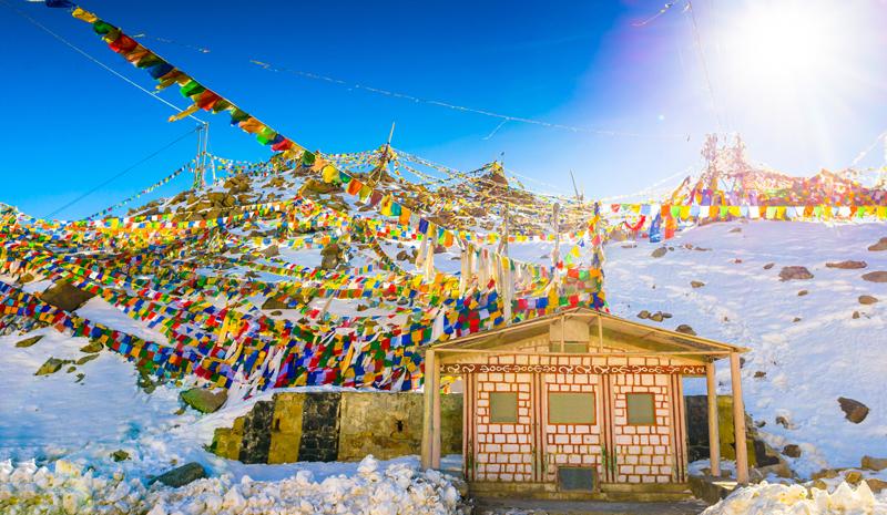 Himalayan India   Prayer Flags