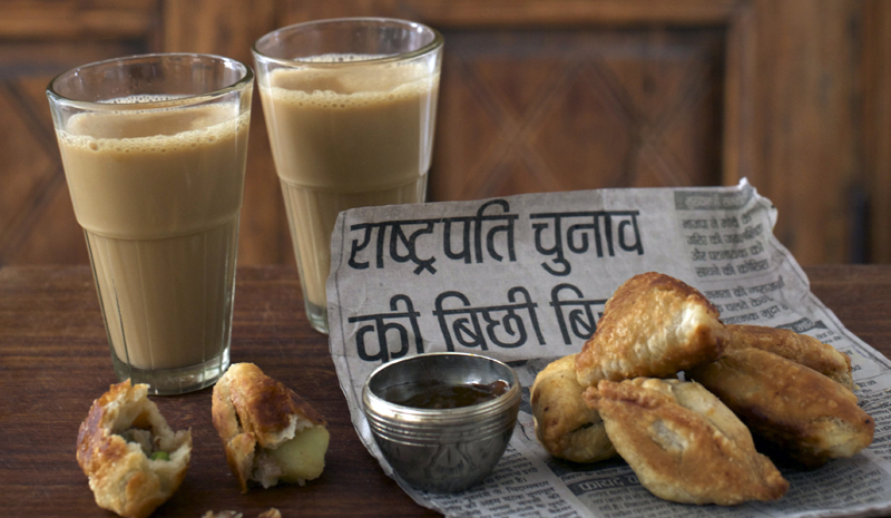 Local Indian food with Chris and Carolyn Caldicott | Taj Falakuma