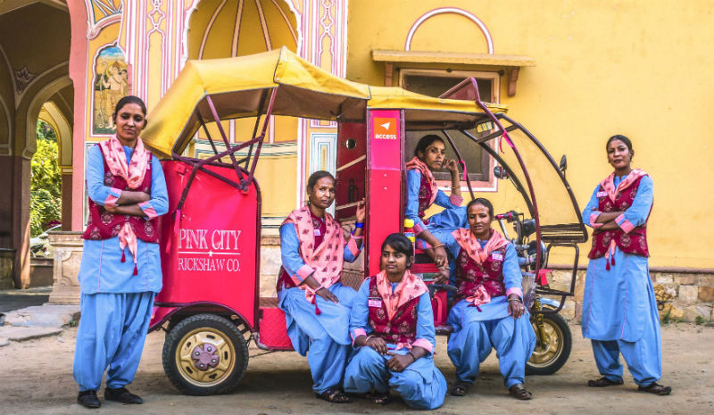 Indian Non Profit Organisation | Pink City Rickshaw Company