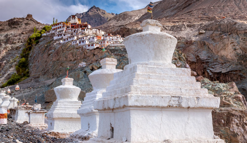 Beautiful Villages in India | Diskit Gupa Nubra Valley