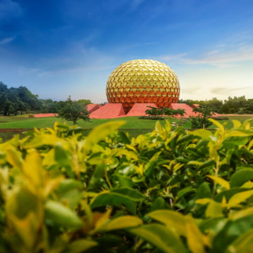 Puducherry | Auroville Matrimandir Golden Temple