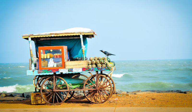 What to do in Puducherry | Beach