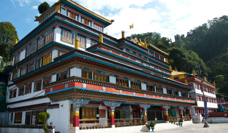 Darjeeling Temple | Choeling Monastery