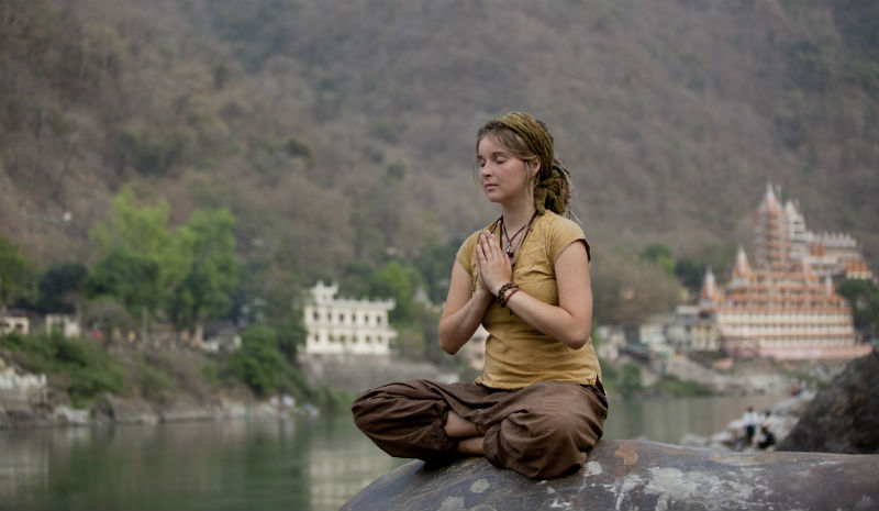 Rishikesh Yoga | Meditating