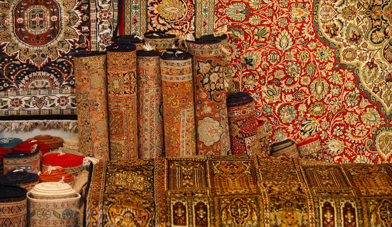 Things to do in Hyderabad | Carpet market
