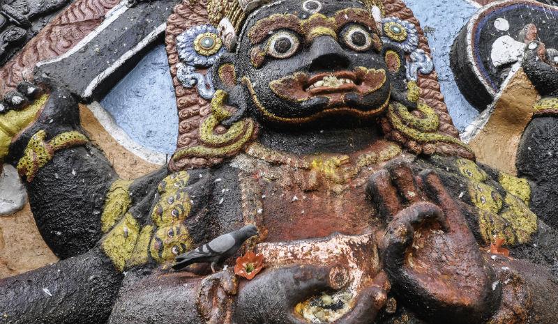 Temples Kathmandu | Kali goddess