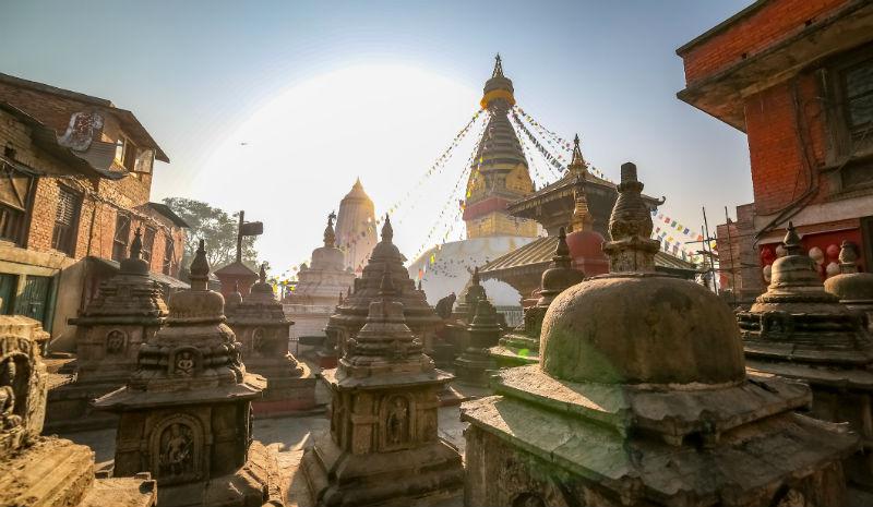 Temples Kathmandu | Swayambahunath Stupa