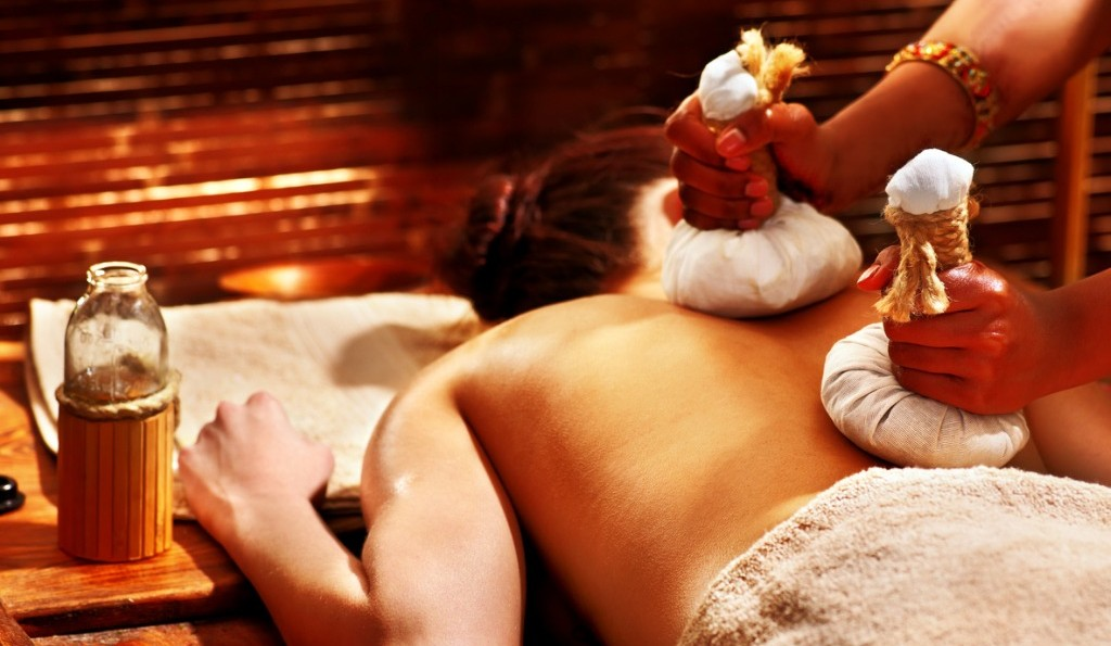 Best Ayurvedic Massage in London_woman | having-massage-with-pouch-picture-id491683745