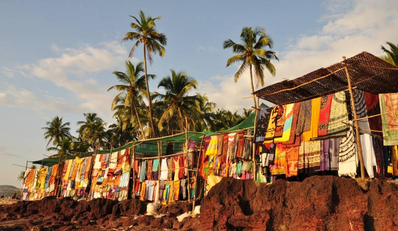 Shopping in Goa | Beach shacks