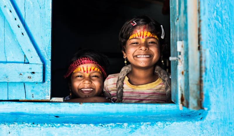 Things to pack for India | children in Jodhpur