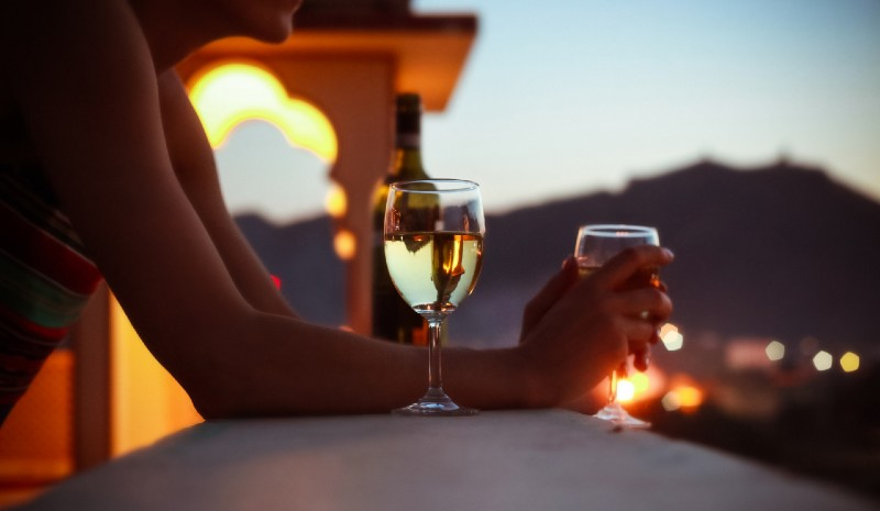 Indian wines | white wine sundowner